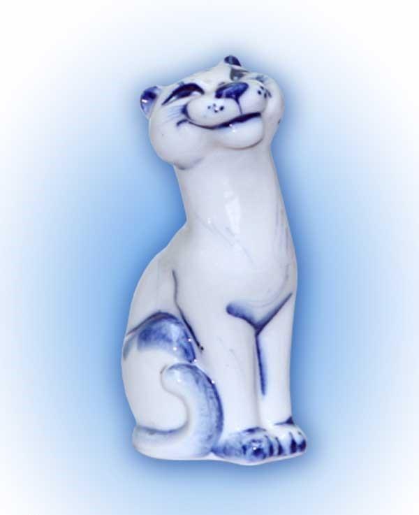 """Скульптура """"Дикая кошка"""""""