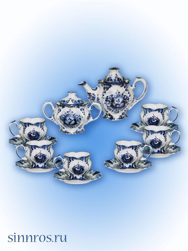 Сервиз чайный «Цветок»