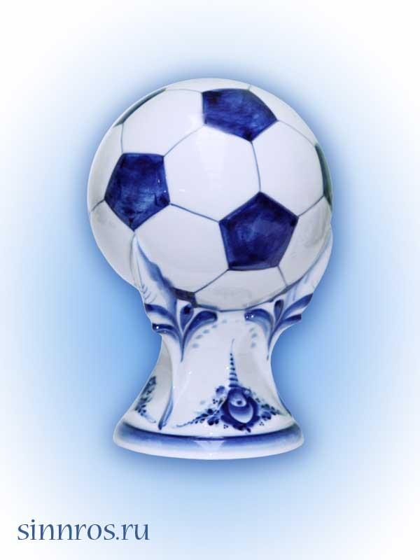 Мяч футбольный бол. на подставке