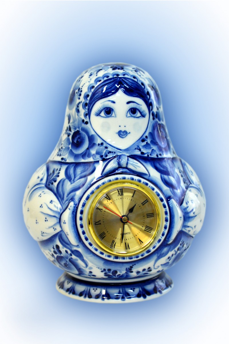 Часы МАТРЁШКА