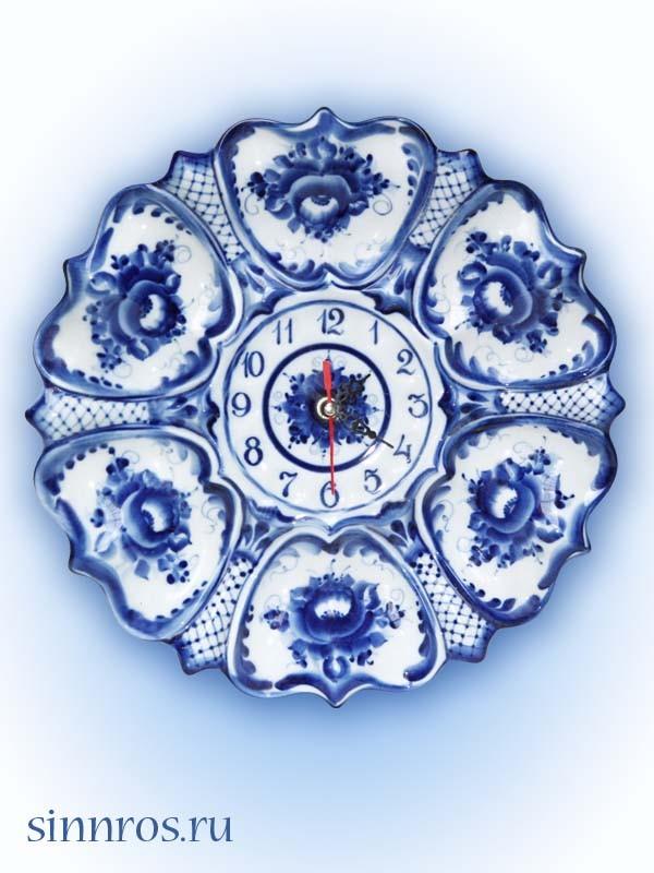 Часы «Цветок»