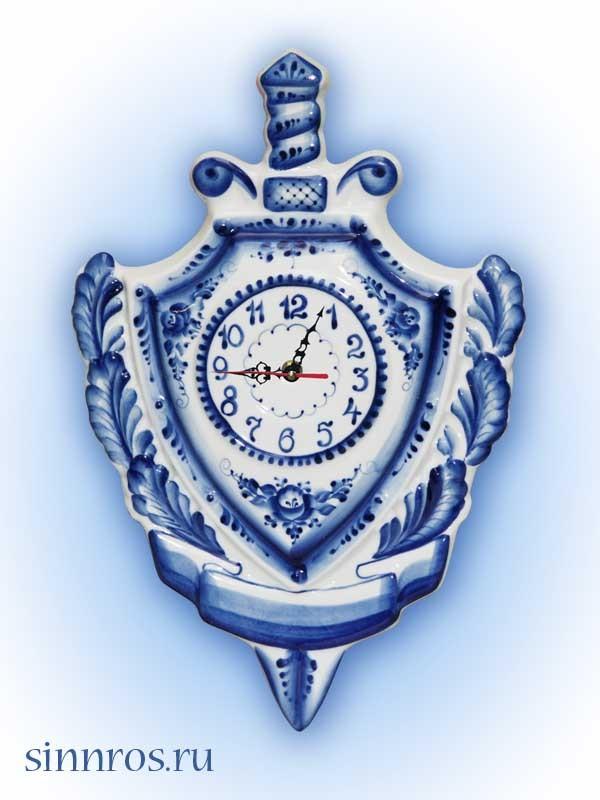 Часы подарочные «Щит и меч»