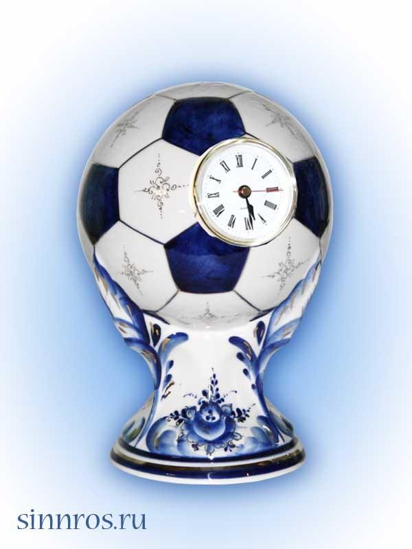 Часы «Мяч» сувенирные